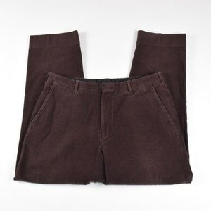 RLPL Purple Label Brown Moleskin Pants 100% Cotton